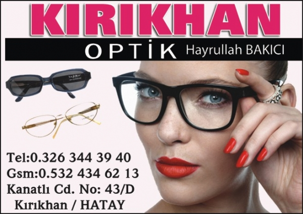 KIRIKHAN OPTİK